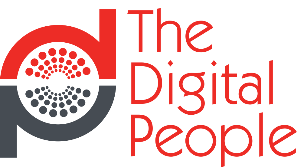The Digital People Logo In Red